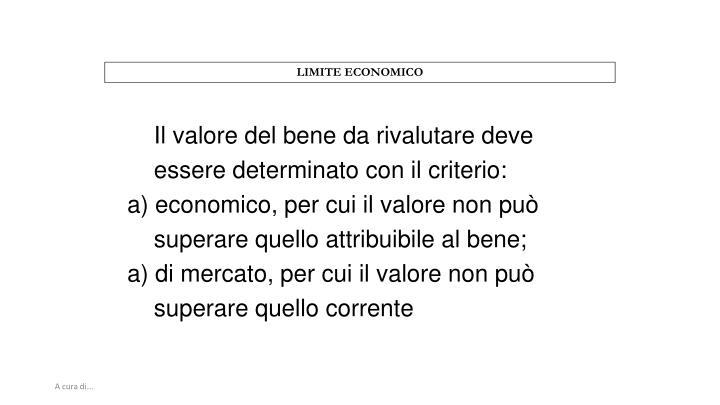 LIMITE ECONOMICO