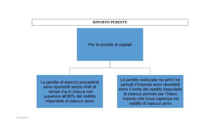 RIPORTO PERDITE