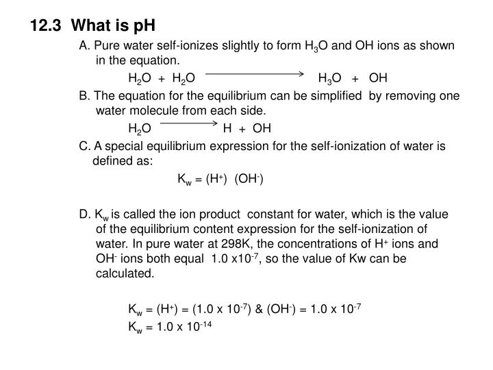 12.3  What is pH