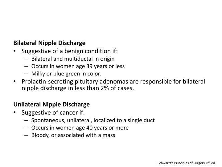 Bilateral Nipple Discharge