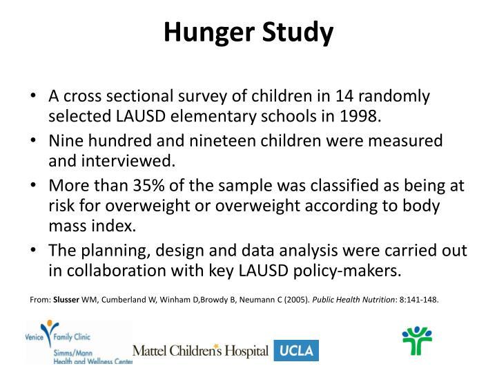 Hunger Study