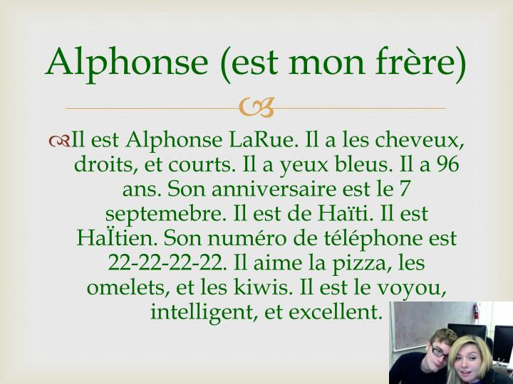 Alphonse (