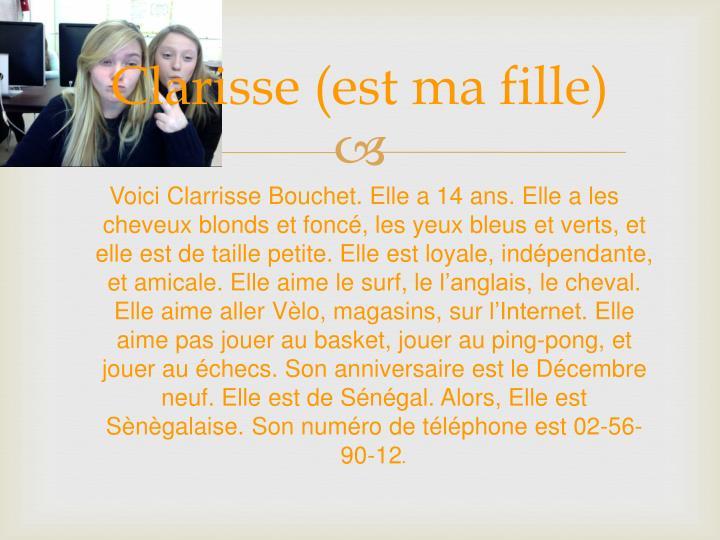 Clarisse (