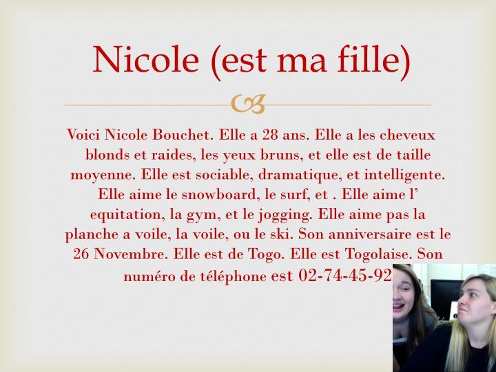 Nicole (