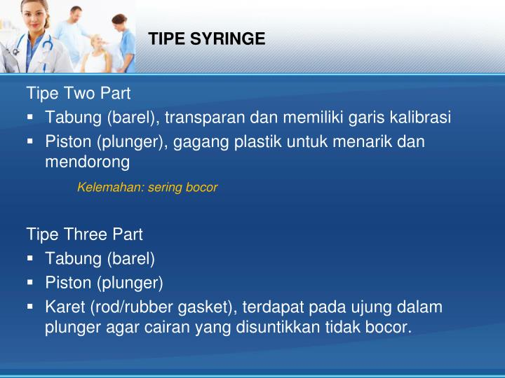 TIPE SYRINGE