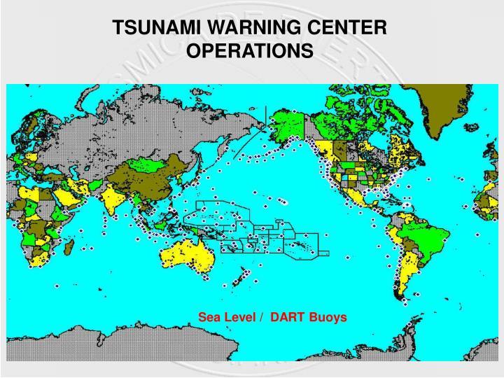 TSUNAMI WARNING CENTER OPERATIONS