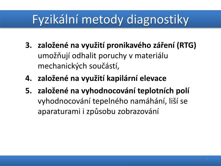 Fyzikální metody diagnostiky