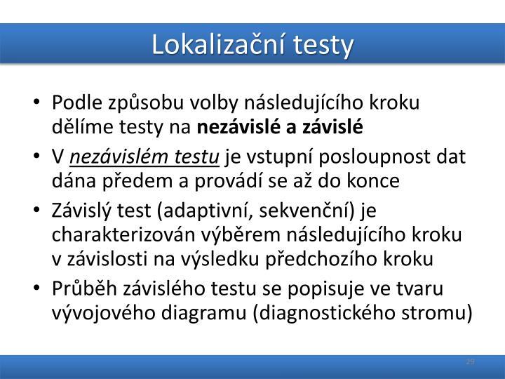 Lokalizační testy