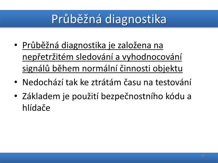 Průběžná diagnostika