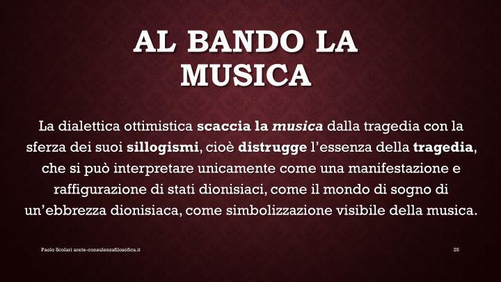 AL BANDO LA MUSICA