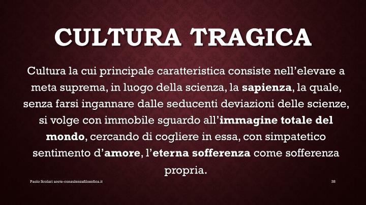 Cultura tragica