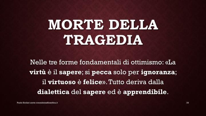 Morte della tragedia