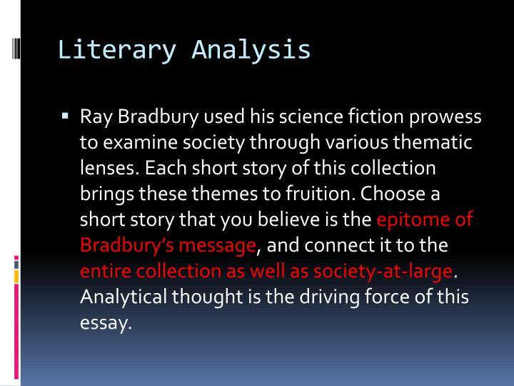 Literary Analysis