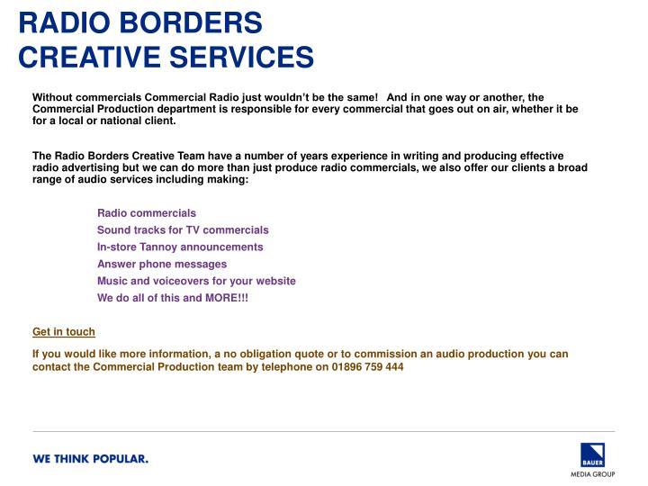 Radio Borders