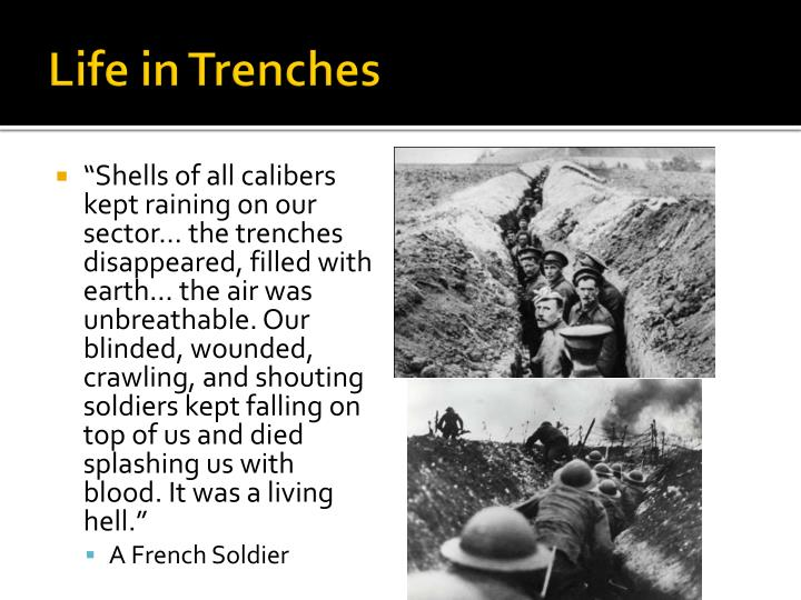 Life in Trenches