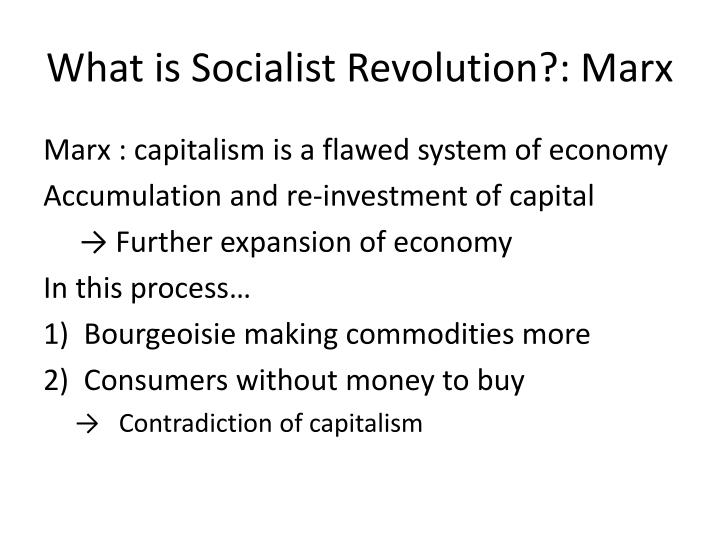 What is Socialist Revolution?: Marx