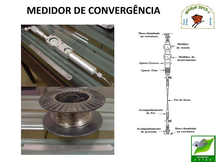 MEDIDOR DE CONVERGÊNCIA