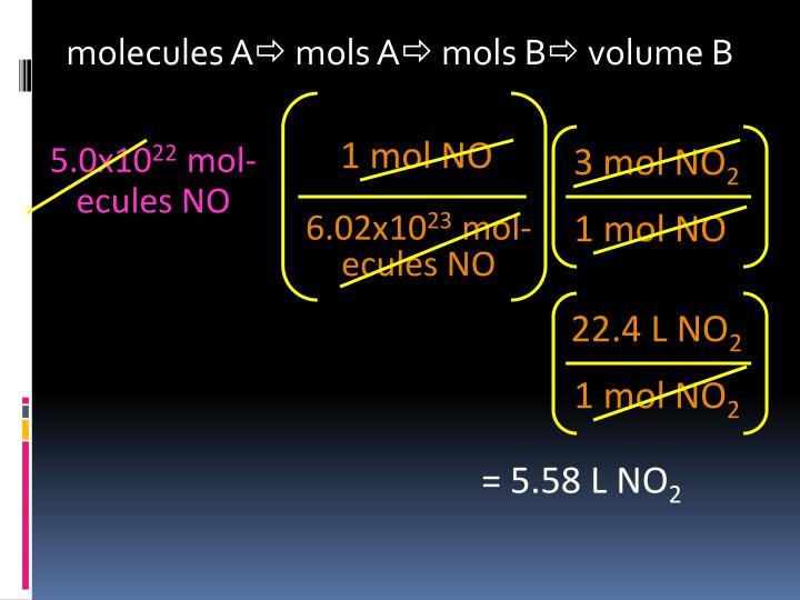 1 mol NO