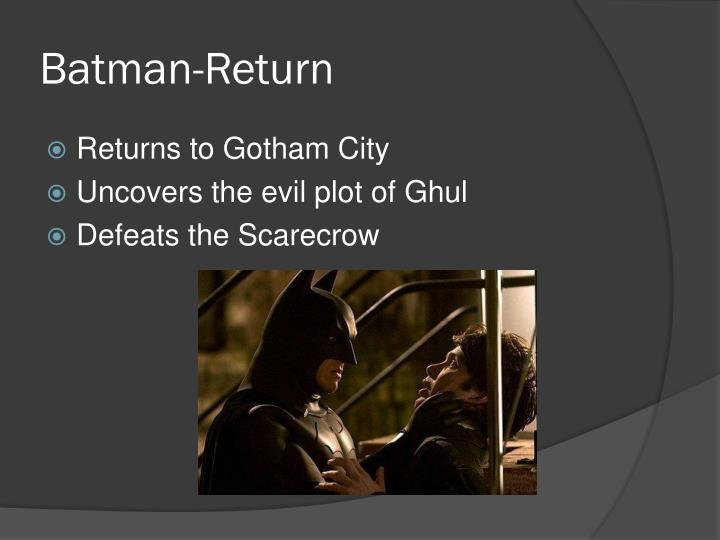 Batman-Return