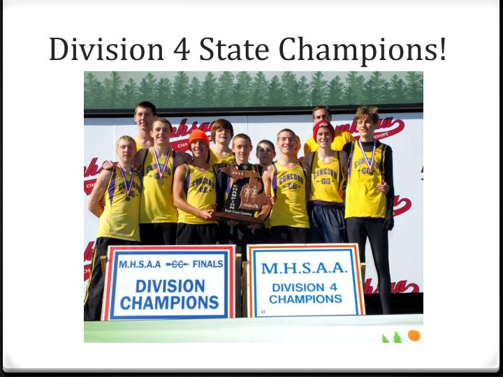 Division 4 State Champions!