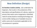 new definition design
