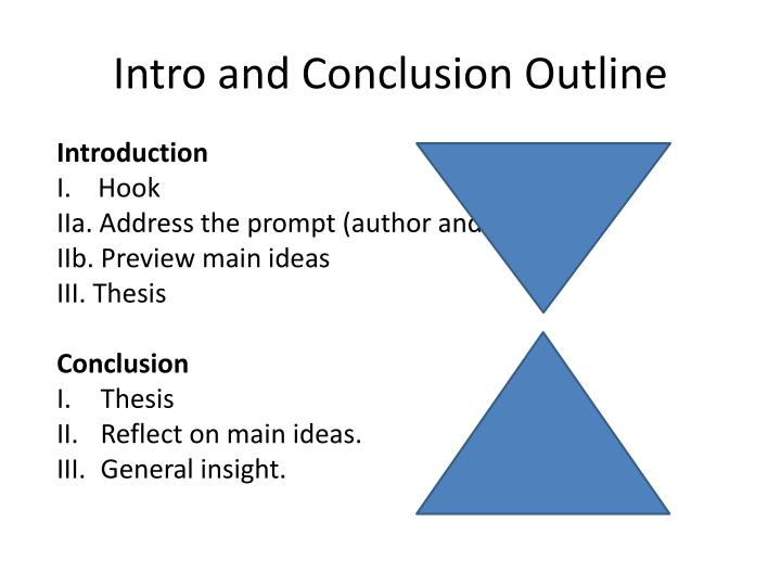 Intro and Conclusion Outline