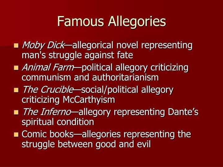 Famous Allegories