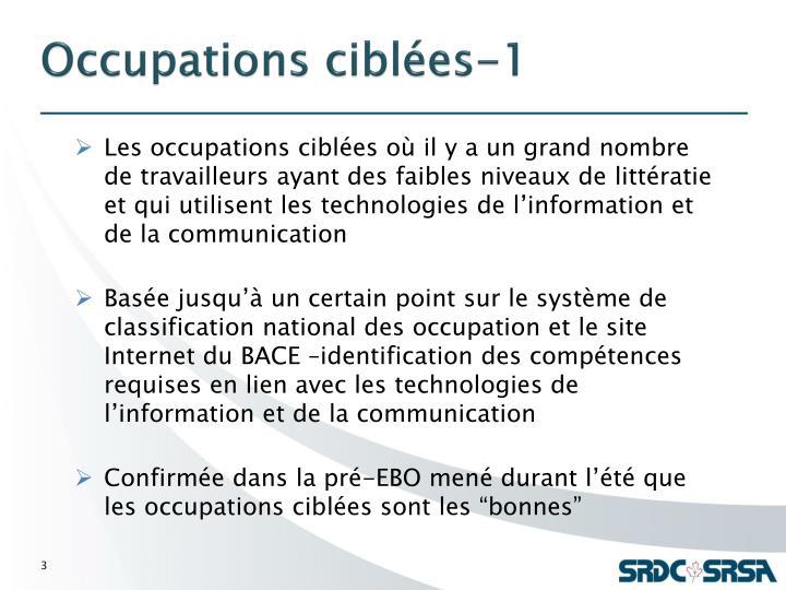 Occupations ciblées-1