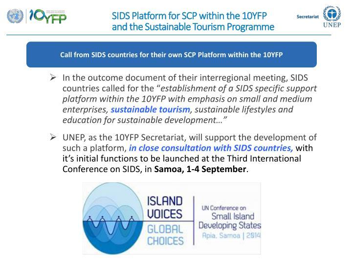 SIDS Platform for SCP