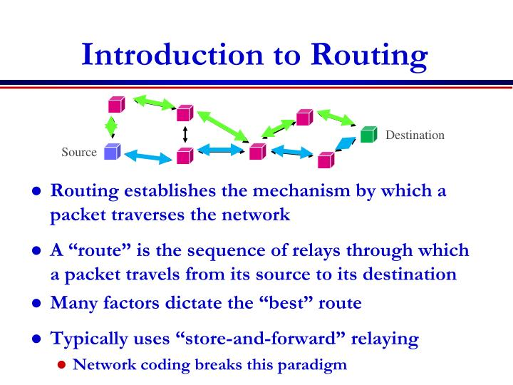 Introduction to Routing