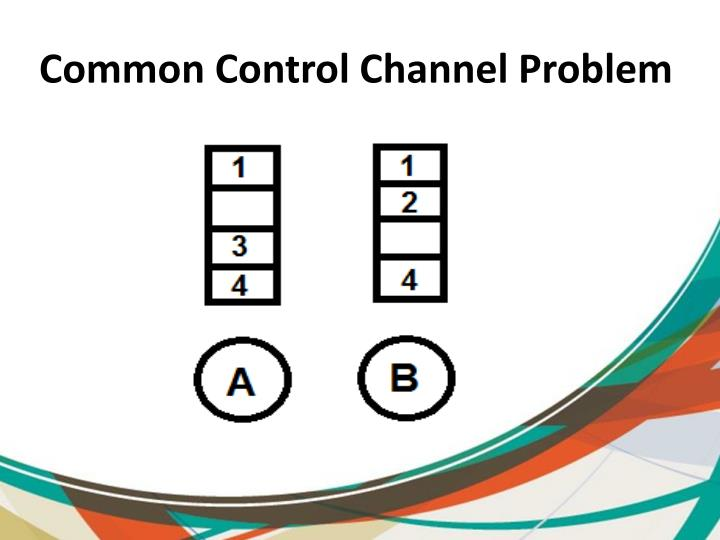 Common Control Channel Problem