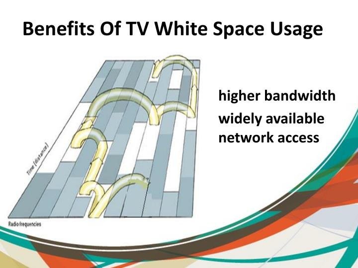 Benefits Of TV White Space Usage