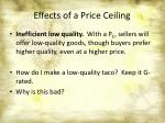 effects of a price ceiling5