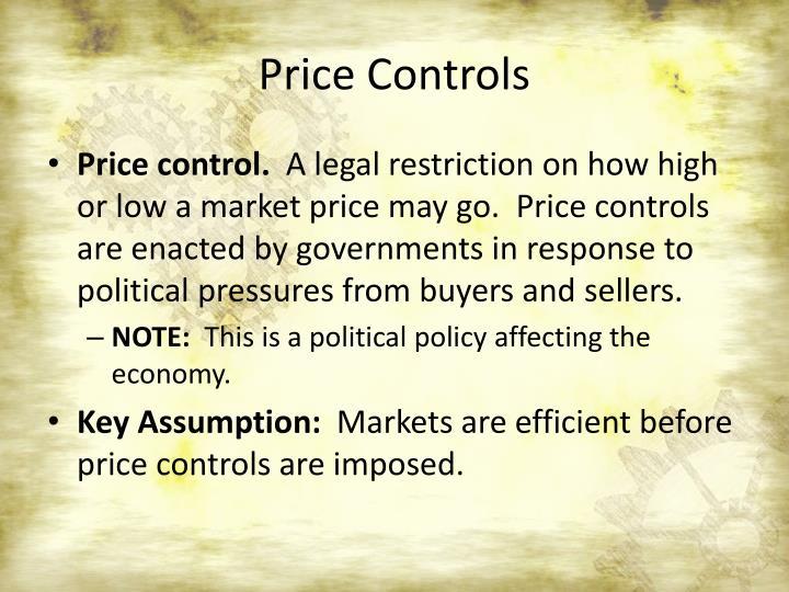 Price Controls