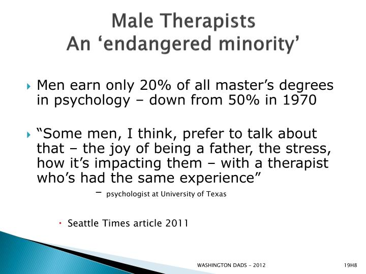 Male Therapists