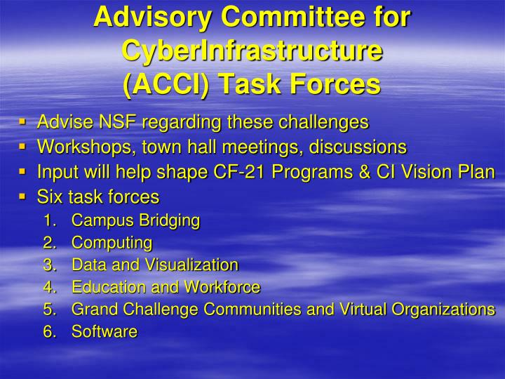 Advisory Committee for