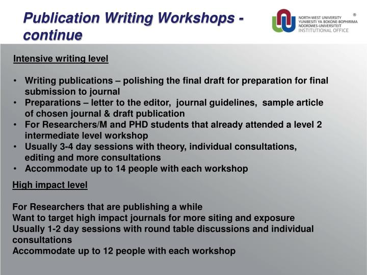 Publication Writing