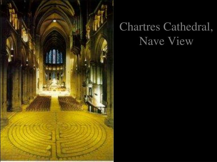 Chartres Cathedral, Nave View