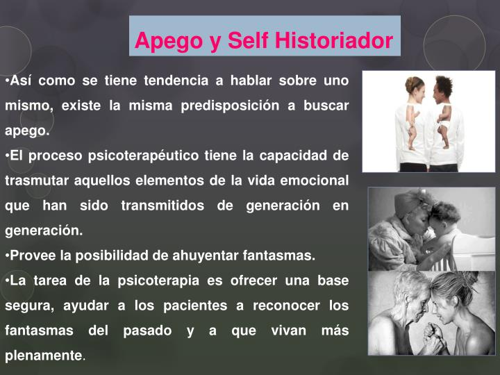 Apego y Self