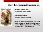 how he changed economics