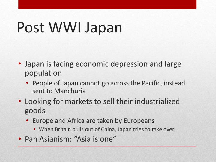 Japan is facing economic depression and large population