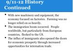 9 11 12 history continued