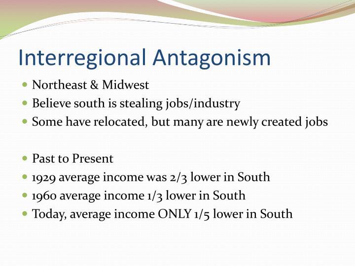 Interregional Antagonism