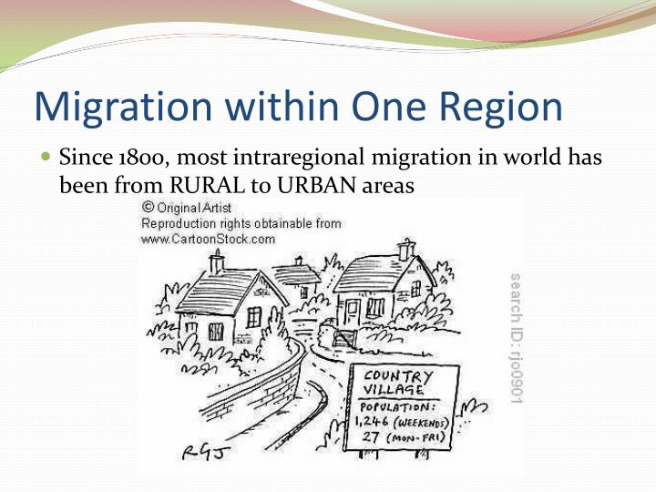 Migration within One Region