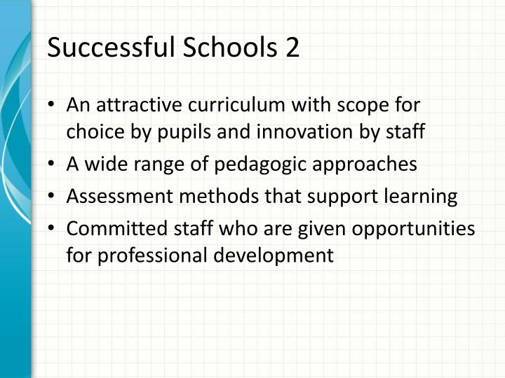 Successful Schools 2
