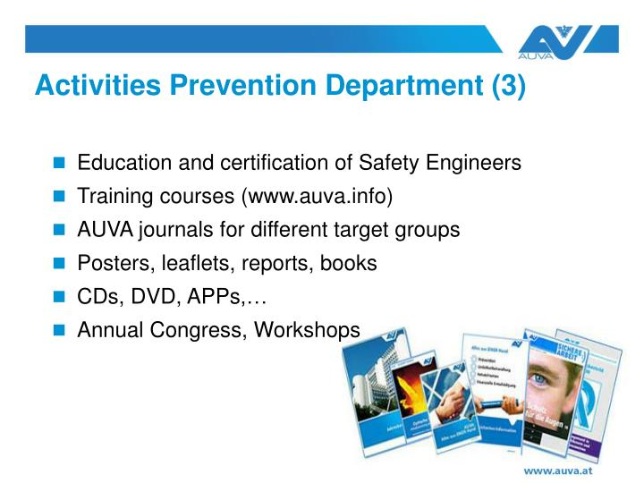 Education and certification of Safety Engineers