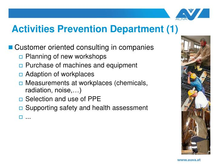 Activities Prevention Department (1)
