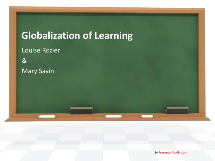 globalization of learning