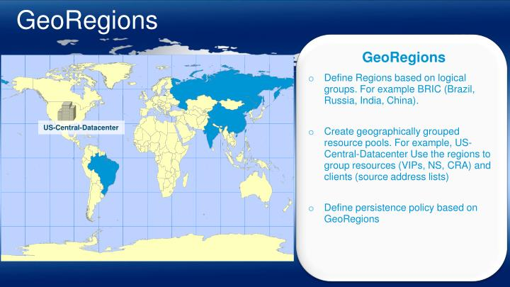 GeoRegions
