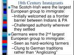 18th century immigrants1